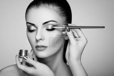 化妆师适用的眼影