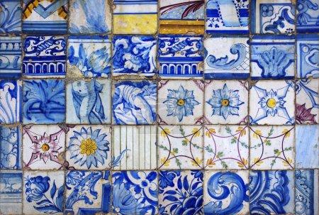 典型的葡萄牙瓷砖