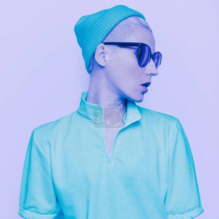 荧光女士时髦款式时尚