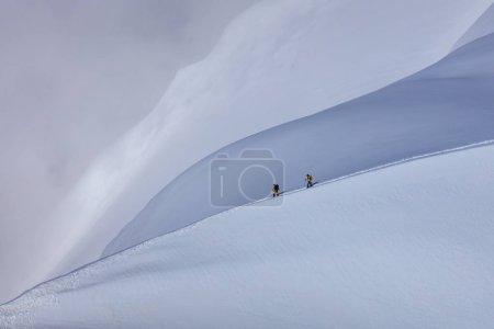 Mont blanc 登山者 _高清图片_邑石网