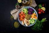 绿豆健康沙拉
