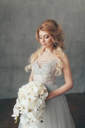 在欧式风格新娘的婚礼