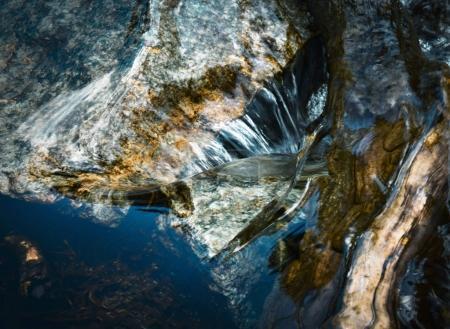 抽象背景水