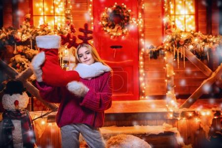 礼物的圣诞袜_高清图片_邑石网