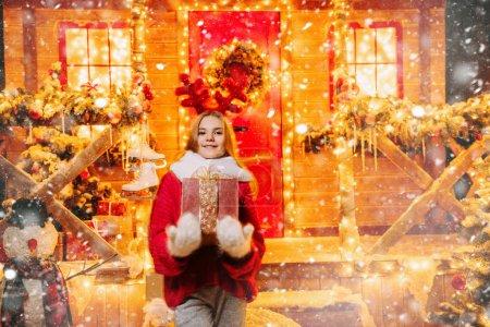 明亮的圣诞夜晚_高清图片_邑石网
