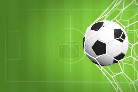 足球或足球背景