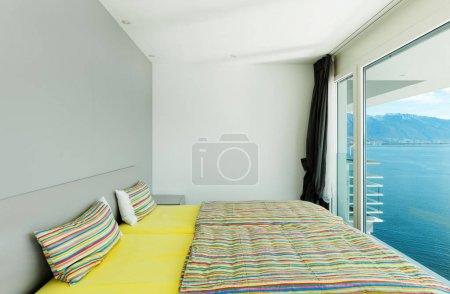 内政、 现代公寓、 卧室
