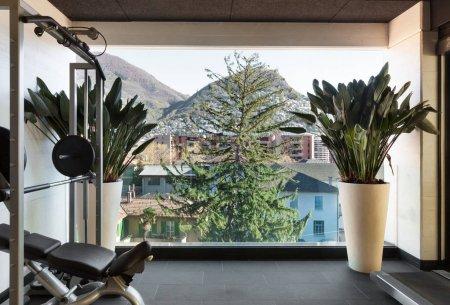 室内的现代公寓