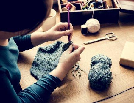 女针织毛衣