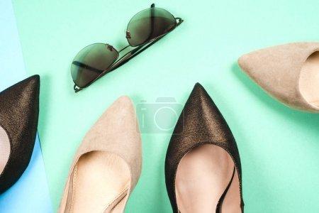 时尚,女性不同的鞋子,高跟鞋
