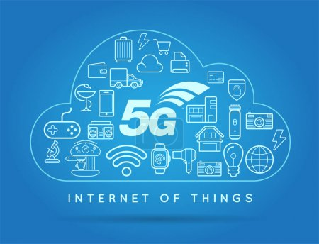 5G IOT Internet of Things Smart Home