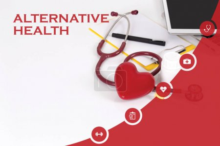 HEALTH CONCEPT: ALTERNATIVE HEALTH