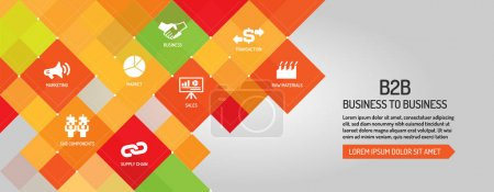 B2B Business to Business banner